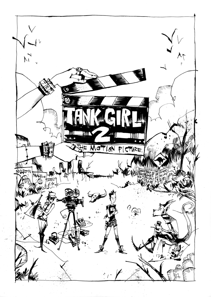 Tank Girl 2 The Motion Picture Pg 1