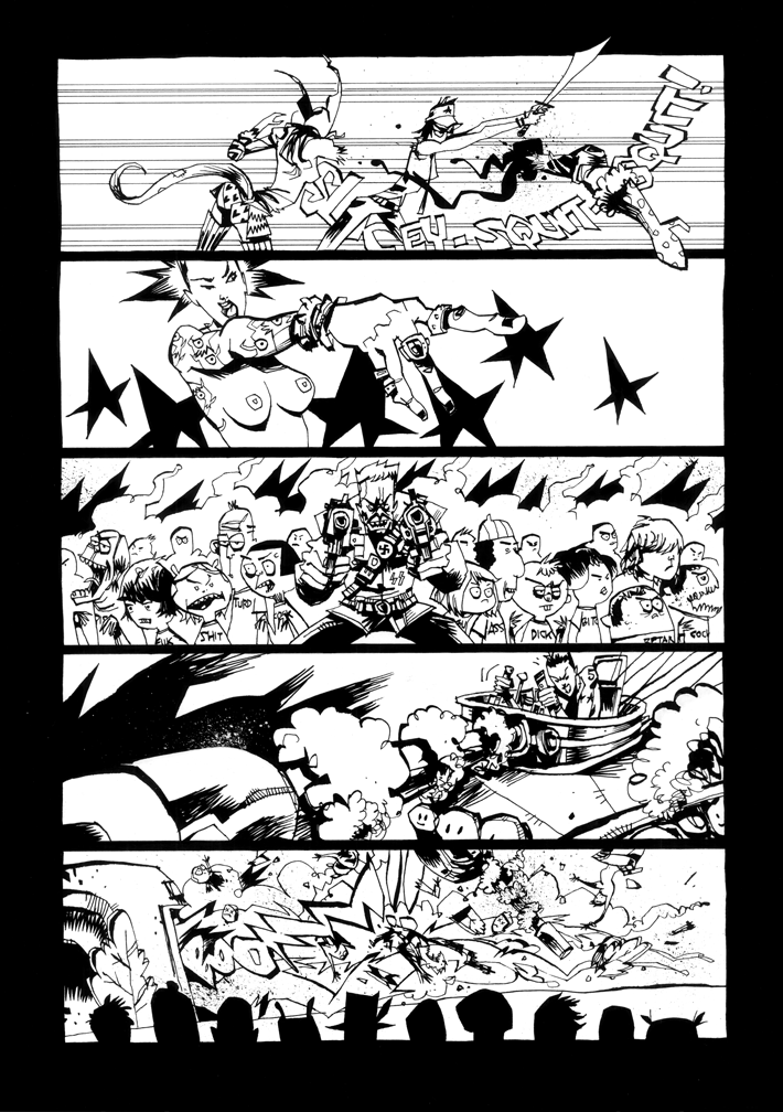 Tank Girl 2 The Motion Picture Pg 5