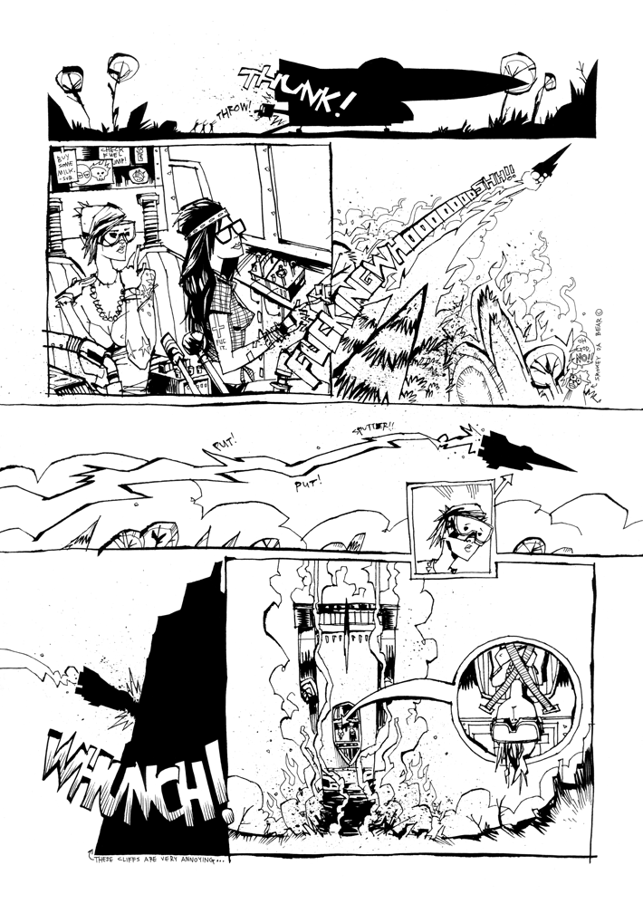 The Big Fucked Up Car Jet Rocket Thing Pg 2
