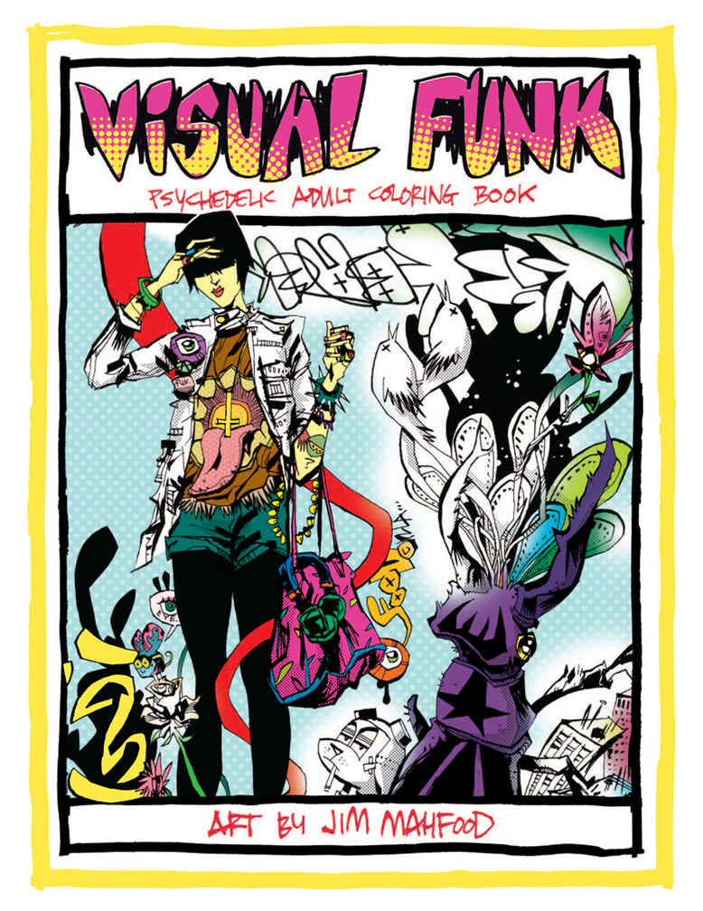 VISUAL FUNK: THE COLORING BOOK