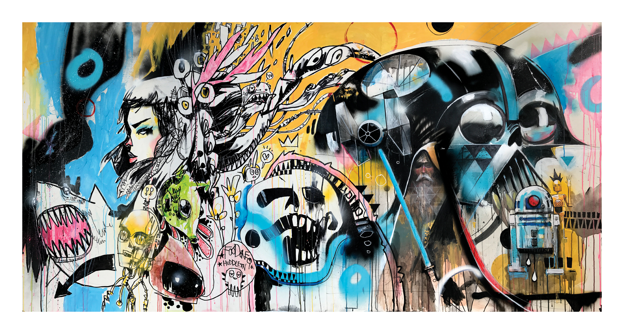 USE THE FORCE COLLAB JIM MAHFOOD & MIKE HUDDLESTON