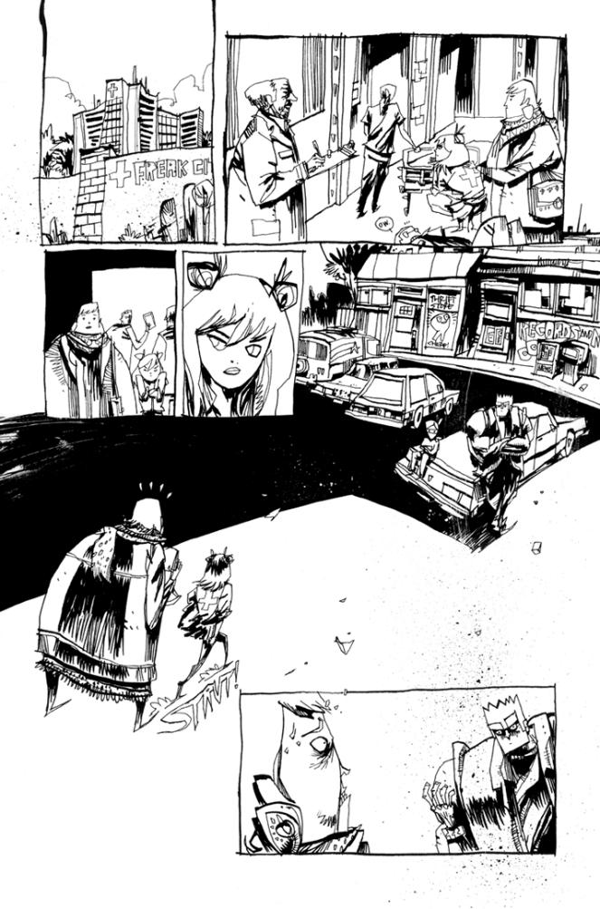 GRRL SCOUTS: MAGIC SOCKS #1 PAGE 1