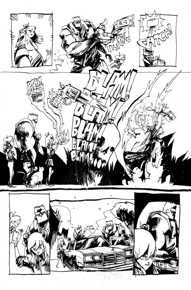 GRRL SCOUTS: MAGIC SOCKS #1 PAGE 2