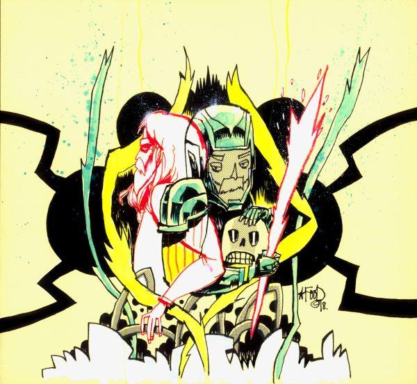 XO Manowar Variant Cover