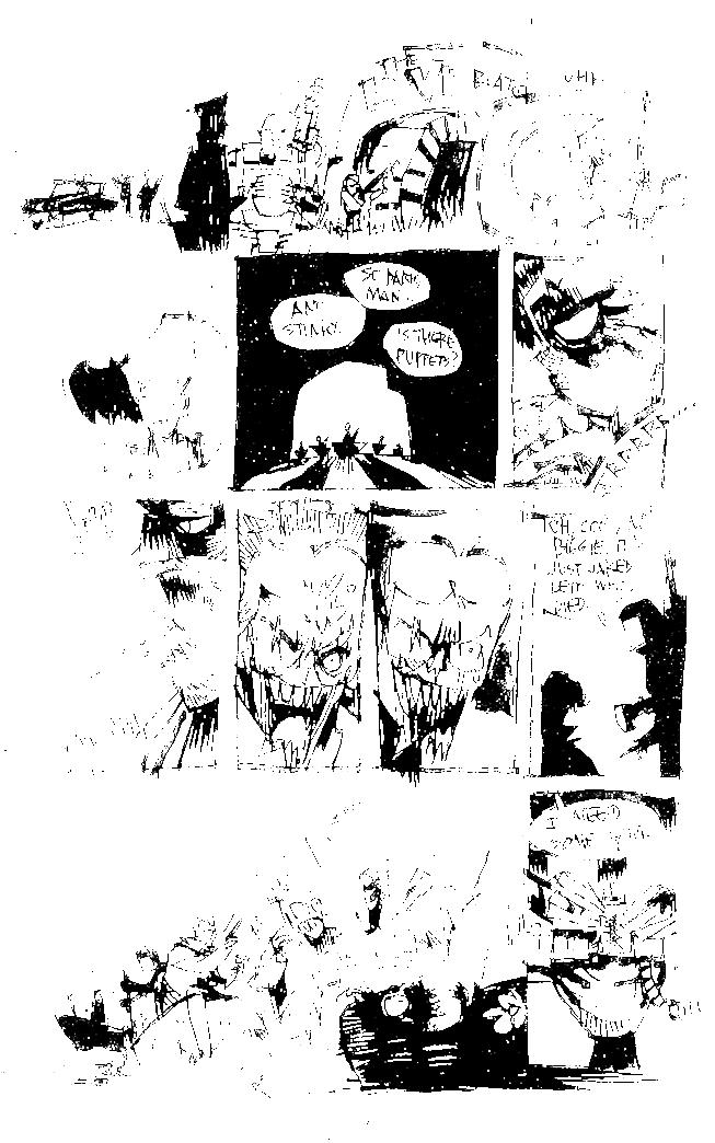 SHITTY DARK KNIGHT RETURNS Page 1
