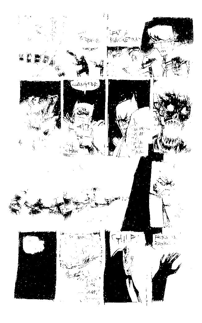 SHITTY DARK KNIGHT RETURNS Page 3
