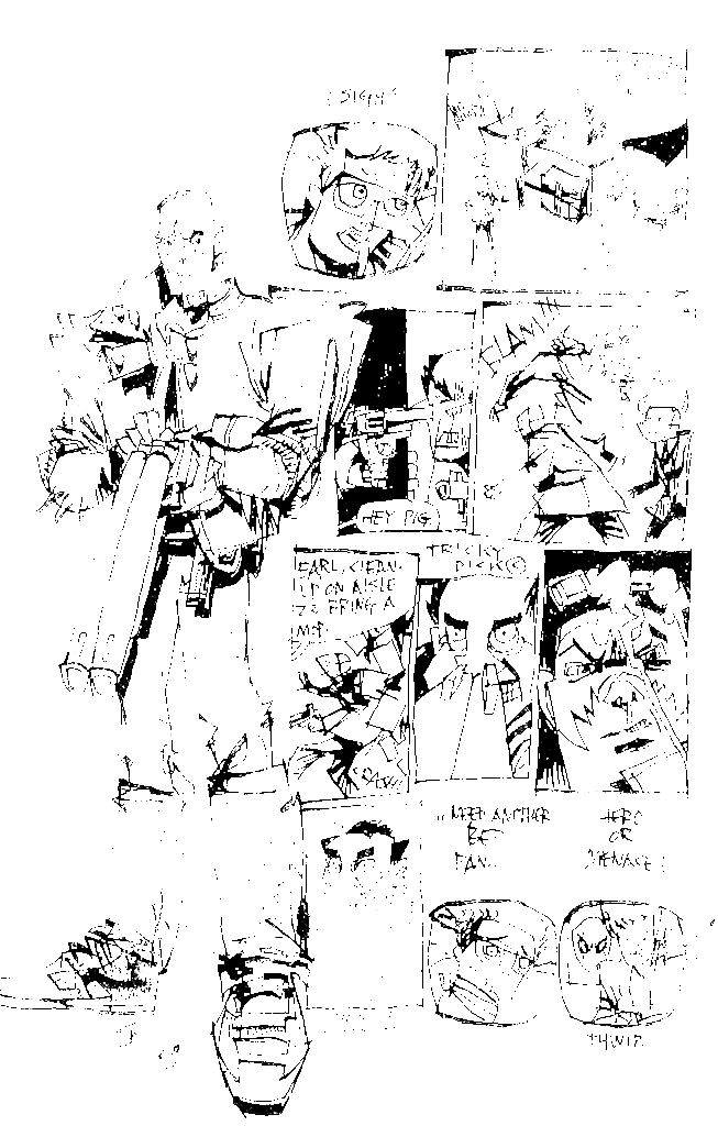 SHITTY DARK KNIGHT RETURNS Page 9