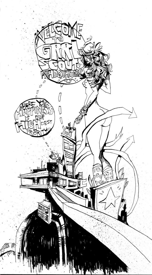 GRRL SCOUTS: MAGIC SOCKS #3 PAGE 1