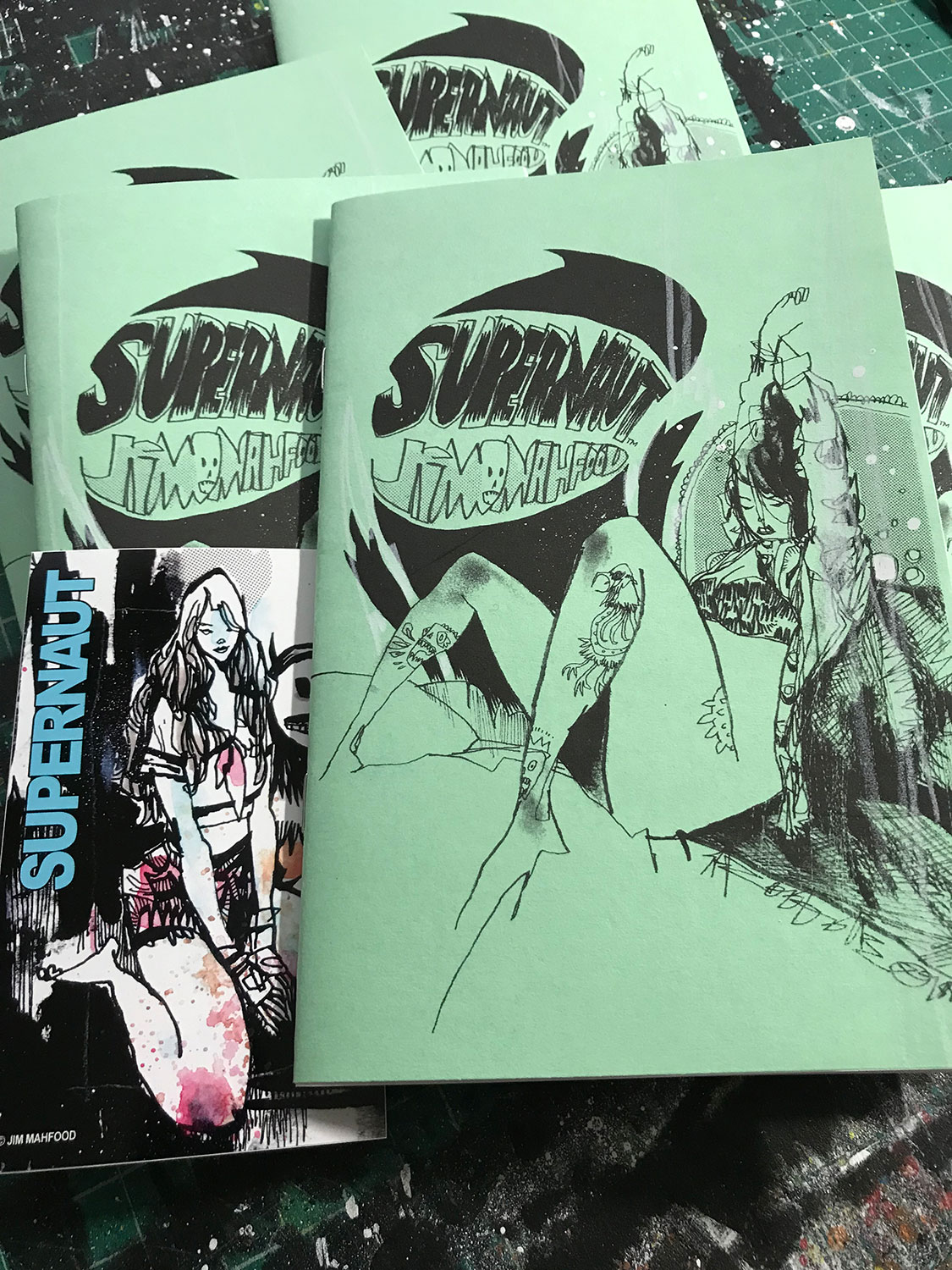 SUPERNAUT SKETCHBOOK