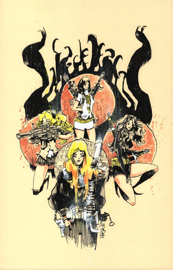 Charlies Angels Bionic Woman 4 Color