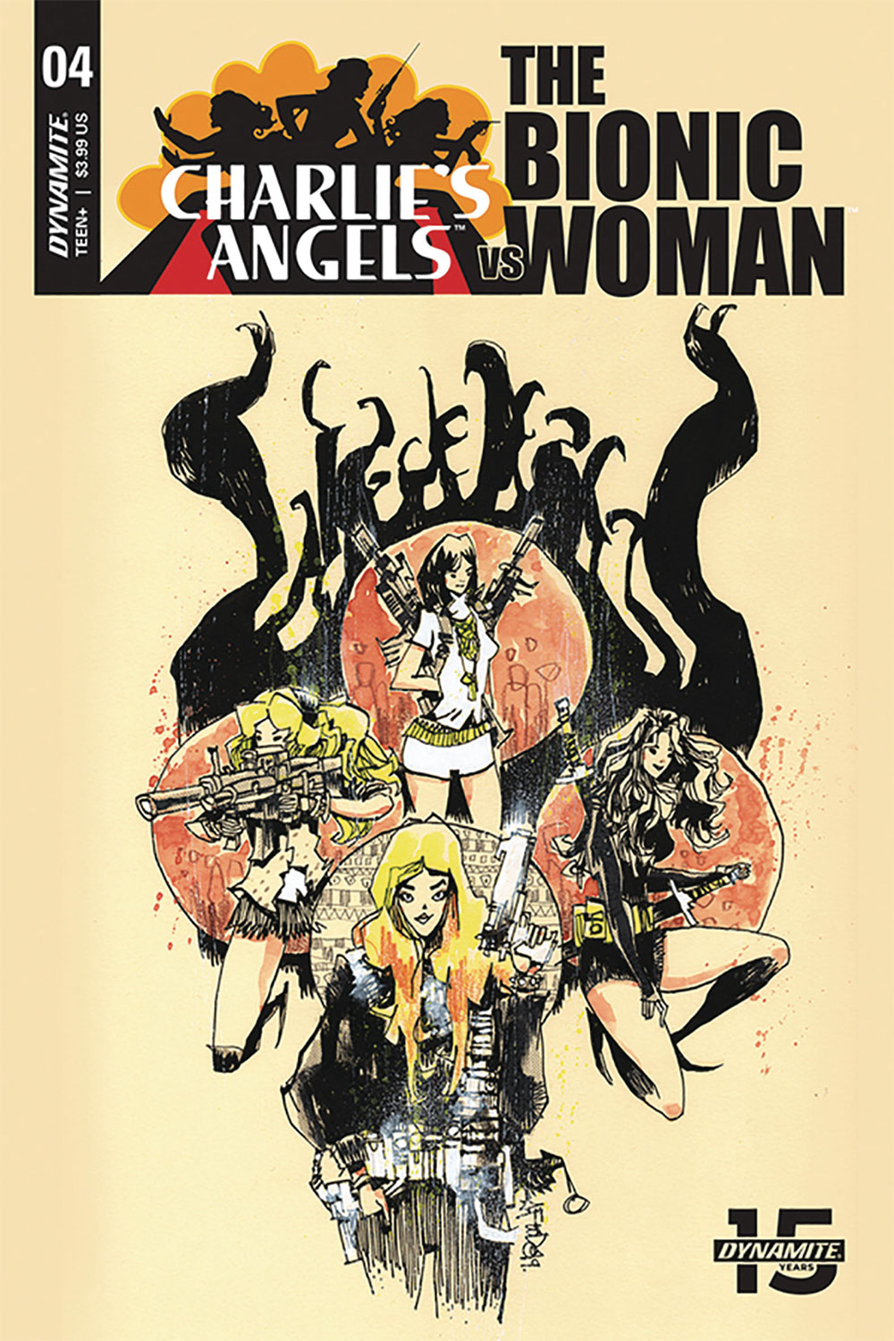 CHARLIE'S ANGELS VS. THE BIONIC WOMAN #4 VARIANT