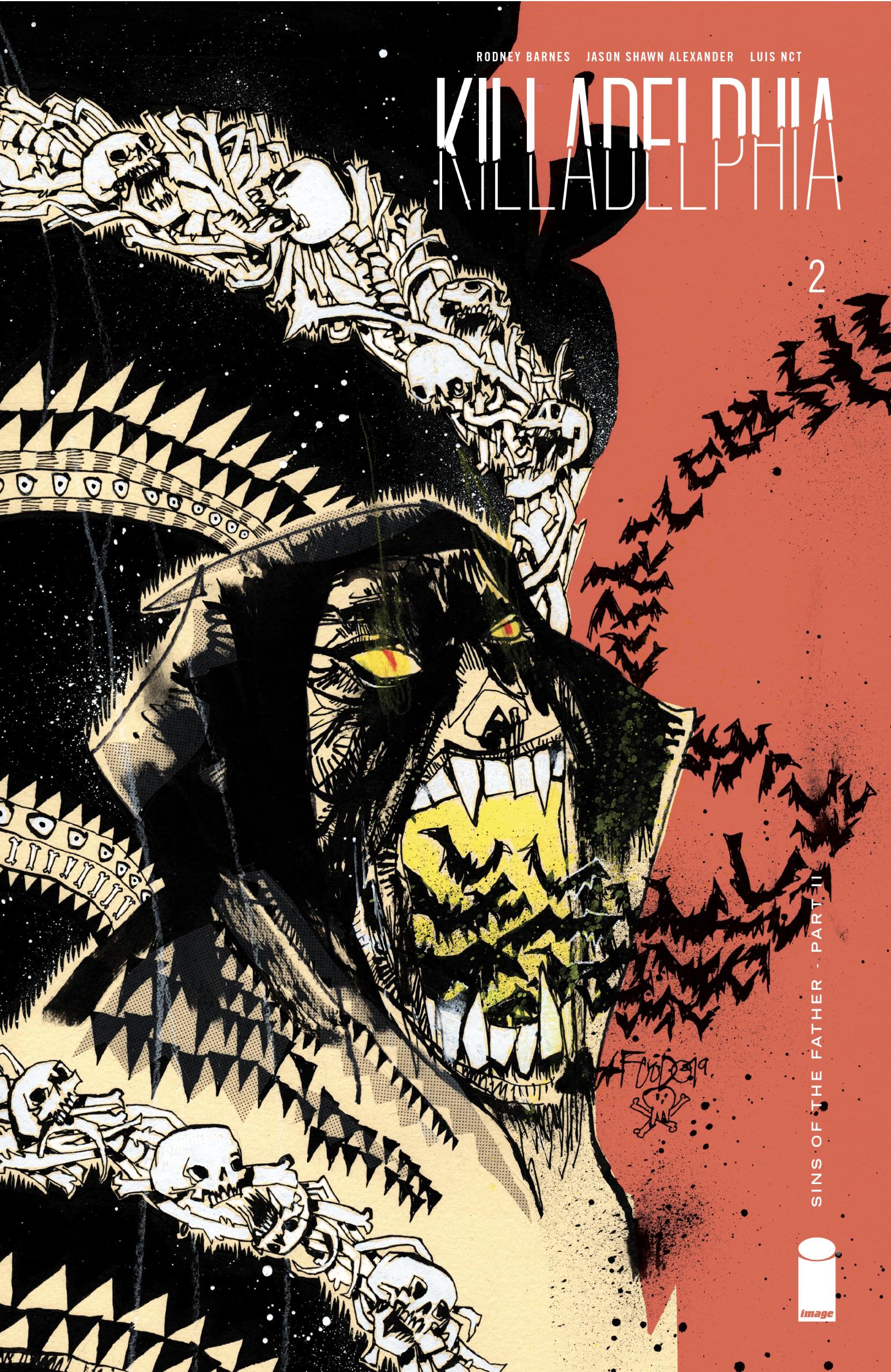 KILLADELPHIA #2 VARIANT COVER