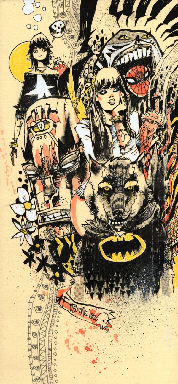 Bat Hound And The Gang