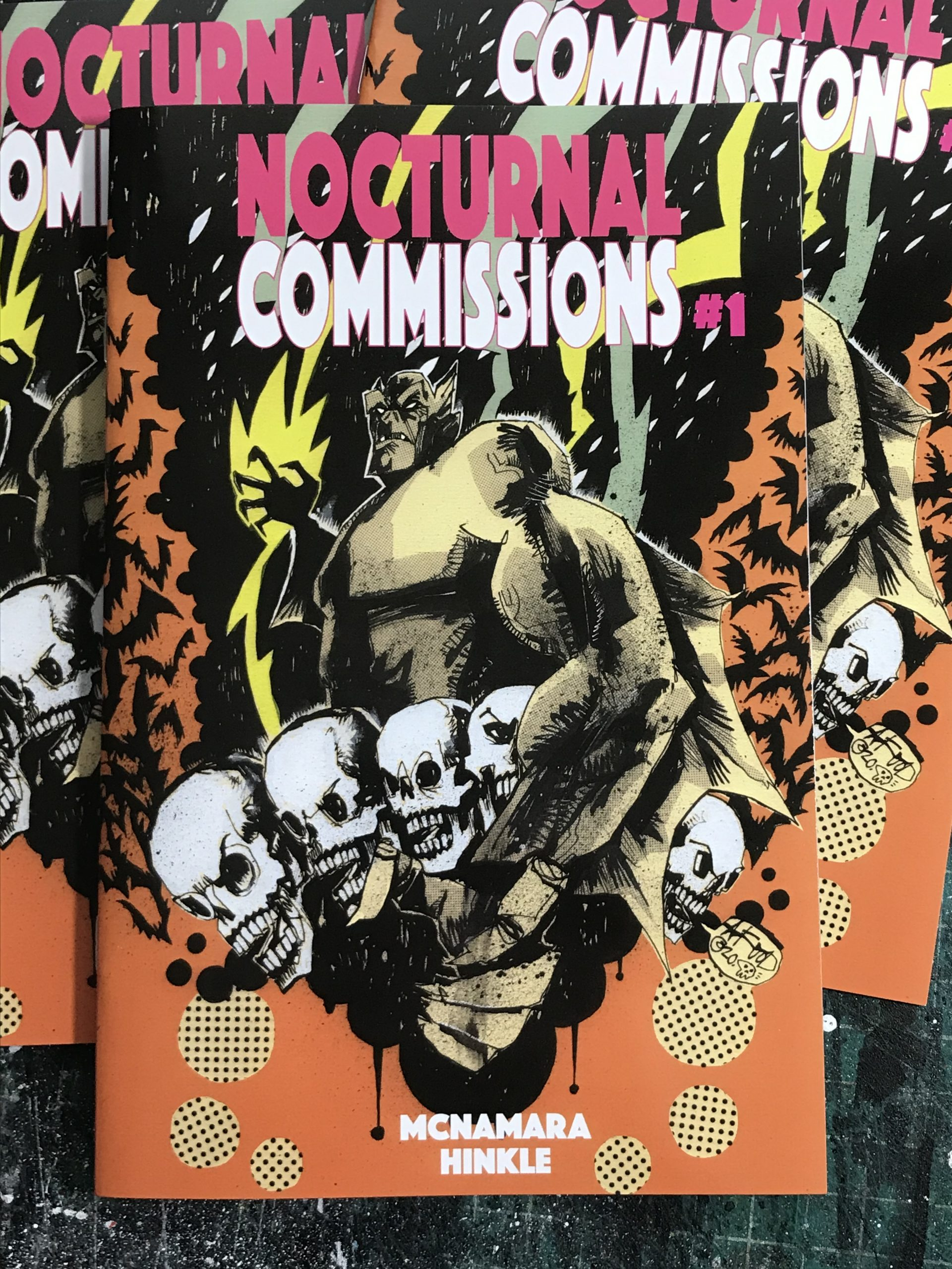 NOCTURNAL COMMISSIONS #1 VARIANT COVER