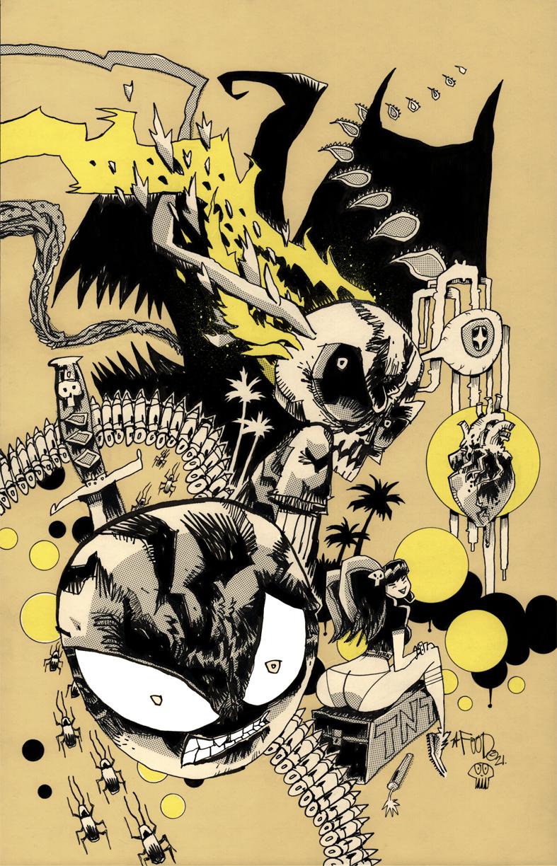 MUTAFUKAZ #1 VARIANT COVER