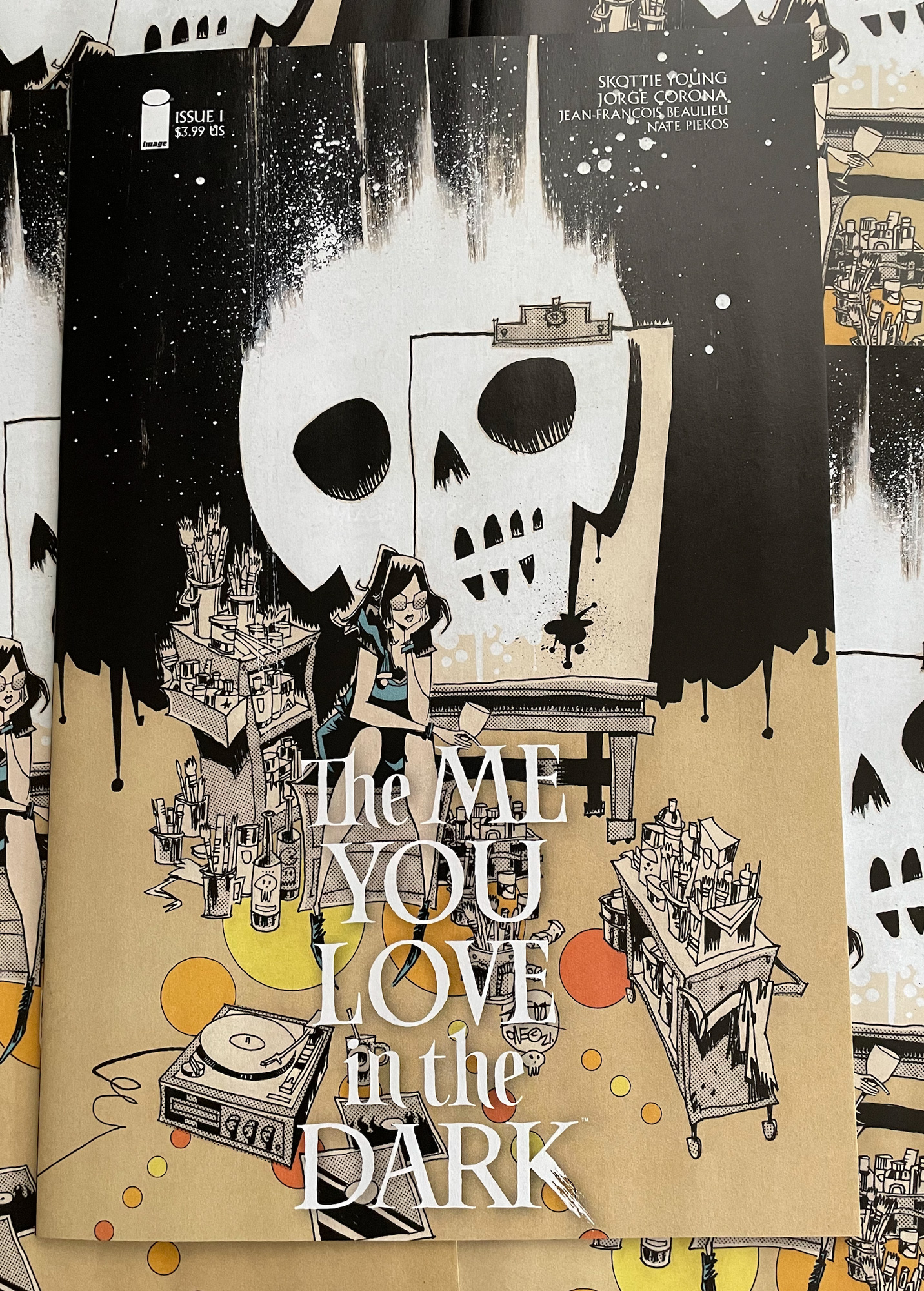 THE ME YOU LOVE IN THE DARK #1 VARIANT LOGO VERSION 20